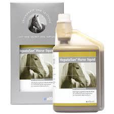 HepatoSan Horse folyadék - a májvédő